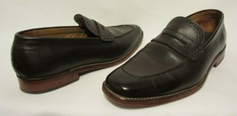 Cole Haan Grand Os Mens Oxford Penny Loafer Mens Size 9 Brown Leather Shoes - $39.57