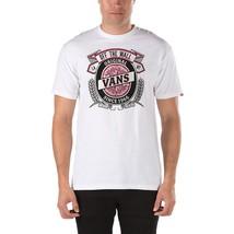 VANS BARLEY BEER TEE T SHIRT TOP MENS M MD MEDIUM OFF THE WALL WHITE SKA... - $15.80