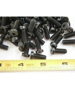 Machine Screws 1/4-20 x 5/8 Socket Cap Low Head Steel Black LOT of - 50#... - $22.31