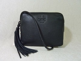 NWT Tory Burch Black Leather Taylor Camera Cross Body Bag $350 - NO RESERVE - $314.82