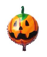 Halloween Pumpkin Balloons Foil Helium Party Decorations Horror Festival... - £1.94 GBP