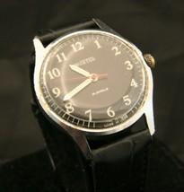 Vintage USSR 1980's Soviet Vostok men's military 18 jewel all steel wristwatch - $99.00