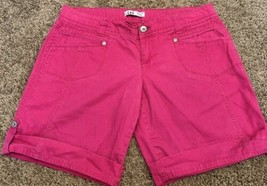 "L.E.I. Ashley Trouble Shorts ~ Juniors Size 13 ~ 11.5"" Inseam ~ 100% Cotton - $15.84"