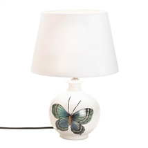 Table Lamps Contemporary, Ceramic Chic Bedside Lamp Desk - White - $63.35