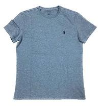 Polo Ralph Lauren Crew Neck Modern Classic-Fit T-Shirt Mens Ocean Heather XL - $29.99
