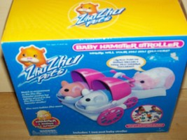 Cepia Zhu Zhu Pets Baby Hamster Stroller 2009 #86687 - $12.00