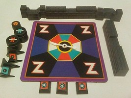 Zaxxon Board Game Replacement Spinner Plus 12 Random Parts - $9.85