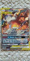 Pokemon Reshiram and Charizard GX Promo SM201 Alternate Art From GX Box - $14.95