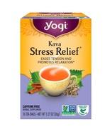 Yogi Tea, Kava Stress Relief, Caffeine Free, 16 Tea Bags, 1.27 oz (36 g) - $4.00