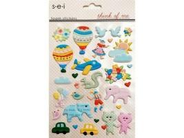 SEI Think of Me Foam Stickers #8-7760