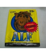 Vintage 1987 TOPPS ALF Alien TV SHOW Unopened Wax Pack of Cards NEW - $12.38