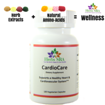 CardioCare 120 capsules Blood Pressure Support, Natural Supplement, Loss Fats. - $18.50