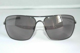 3e607c4f39fbb Oakley Plaintiff Squared Sunglasses OO4063-01 Polished Black W  Grey Lens -   148.49