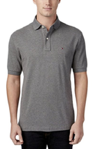 Tommy Hilfiger Men's Classic-Fit Ivy Polo, Gray, Size L, MSRP $49 - $29.69