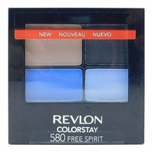 REVLON COLORSTAY EYE SHADOW 16 HOUR QUAD 580 FREE SPIRIT - $4.94