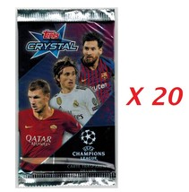 Champions League 2018-2019 Crystal Lot 20 Packs Cards Topps - $26.00