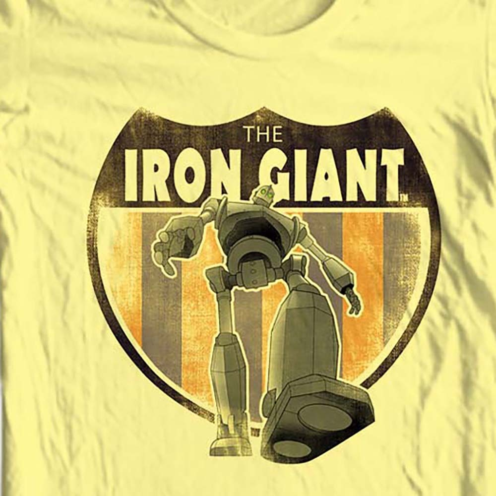 Ilm animated nostalgic toons graphic tee for sale online tee shirt store cotton yellow tee shirt