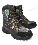 Men's Hunting Boots Waterproof Winter Snow Leather & Nylon Thinsulate- 6... - $43.45+