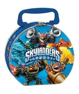 Skylanders Evergreen Metal Lunch Carry All Tin 1 Per Package Party Suppl... - $10.84