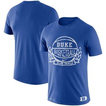 Duke Blue Devils Mens Nike Basketball Crest Dri-Fit Cotton T-Shirt- XXL/... - $22.99