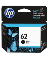 HP C2P04AN 62 Black Original Ink Cartridge Yield 200 For Hp Envy 5660 56... - $35.59