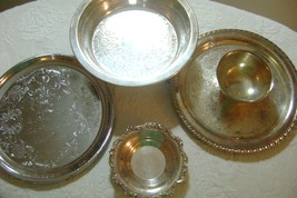 Assorted Silver Plate Lot 2 - $40.00