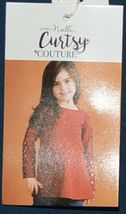 Simply Noelle Curtsy Couture Girls Cutout Long Sleeve Shirt Misty Blue 2T image 4