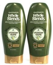 2 Garnier Whole Blends Replenishing Conditioner Legendary Pressed Olive 22 oz - $24.99