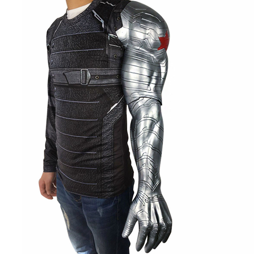 Winter Soldier Bucky Barnes Armor Arm from Captain America 3 Civil War Cosplay - $51.51