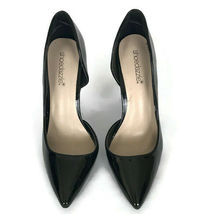 "Shoedazzle Womens Shoes Size 8 Black Patton Stiletto 4.5"" Heel Pointed Toe Pump image 4"