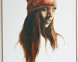 """RARE Original, Signed 1976 Popo & Ruby Lee Oil Painting """"Indian Girl"""" with COA - $17,280.00"""