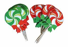 DRAGON SONIC 48 Pcs Christmas Cupcake Toppers, Party Supplies for Birthday Party - $9.49