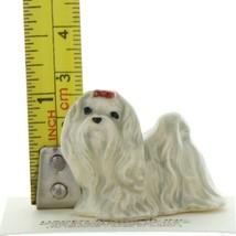 Hagen Renaker Dog Maltese Ceramic Figurine image 2