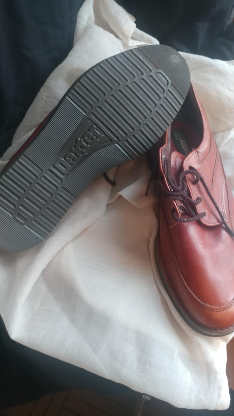 Men's Dexter brown shoes sz 11.5 sec1085
