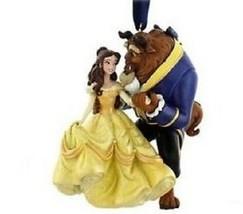 Disney World Beauty and the Beast Figure Ornament, NEW - $34.00