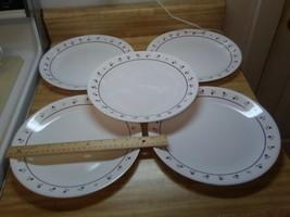 Corelle Burgundy Rose plates - $24.74