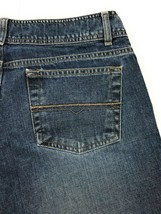 American Eagle Outfitters Crop Capri 100% Cotton Distressed Blue Jeans W... - $10.96