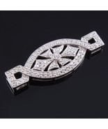 Stylish Silver Pendant for Girls, Crystal Pendant perfect for Christmas ... - $34.00