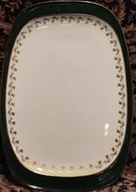 """Spode GREEN VELVET Sandwich Tray Platter 12 7/8"""" - $44.84"""