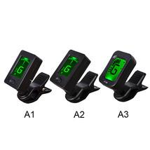 Mini Clip-On Guitar Tuner Automatic Digital Tone Tuner for Acoustic Elec... - $10.60