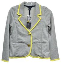 $59 Tommy Hilfiger Macy's Youth Girls Grey Blazer Jacket Sweater SWEATSHIRT Sm - $24.75