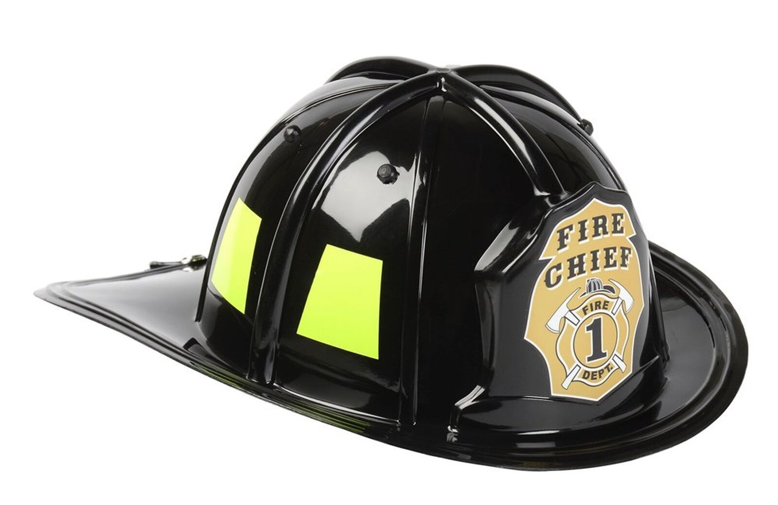 Aeromax Jr. Firefighter Helmet Black Adjustable Youth Size