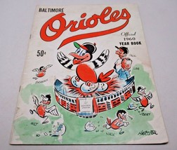 Baltimore Orioles Official 1960 Year Book Brooks Robinson MLB HOF Vintage - $34.16