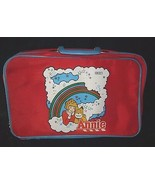 Vintage World Of Annie Orphan Bambola Bambini Rosso & Blu Valigetta - $60.94