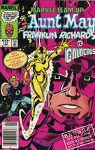 Marvel Team-Up Comic Book #137 Aunt May Franklin Richards Vs Galactus 1984 VFN- - $2.50