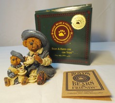 Boyds Bears caitheine and Caitlin Berryweather Fine Cup of Tea Figurine - $10.00