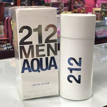 212 Men AQUA Limited Edition by Carolina Herrera  3.4 fl.oz / 100 ml EDT Spray - $68.98