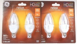 1 GE Relax 4w LED 300 Lumens HD Dimmable 2 Ct Comfort Soft White Light Bulbs - $17.99