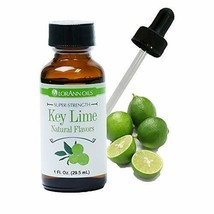 LorAnn Key Lime Super StrengthFlavor, 1 ounce bottle - includes a Dropper - $10.88