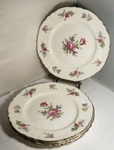 """Homer Laughlin Household Institute Priscilla 4 Salad Plate Or Lunch Plate 9"""" - $9.49"""